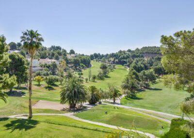 Aerial View Altea Golf Club