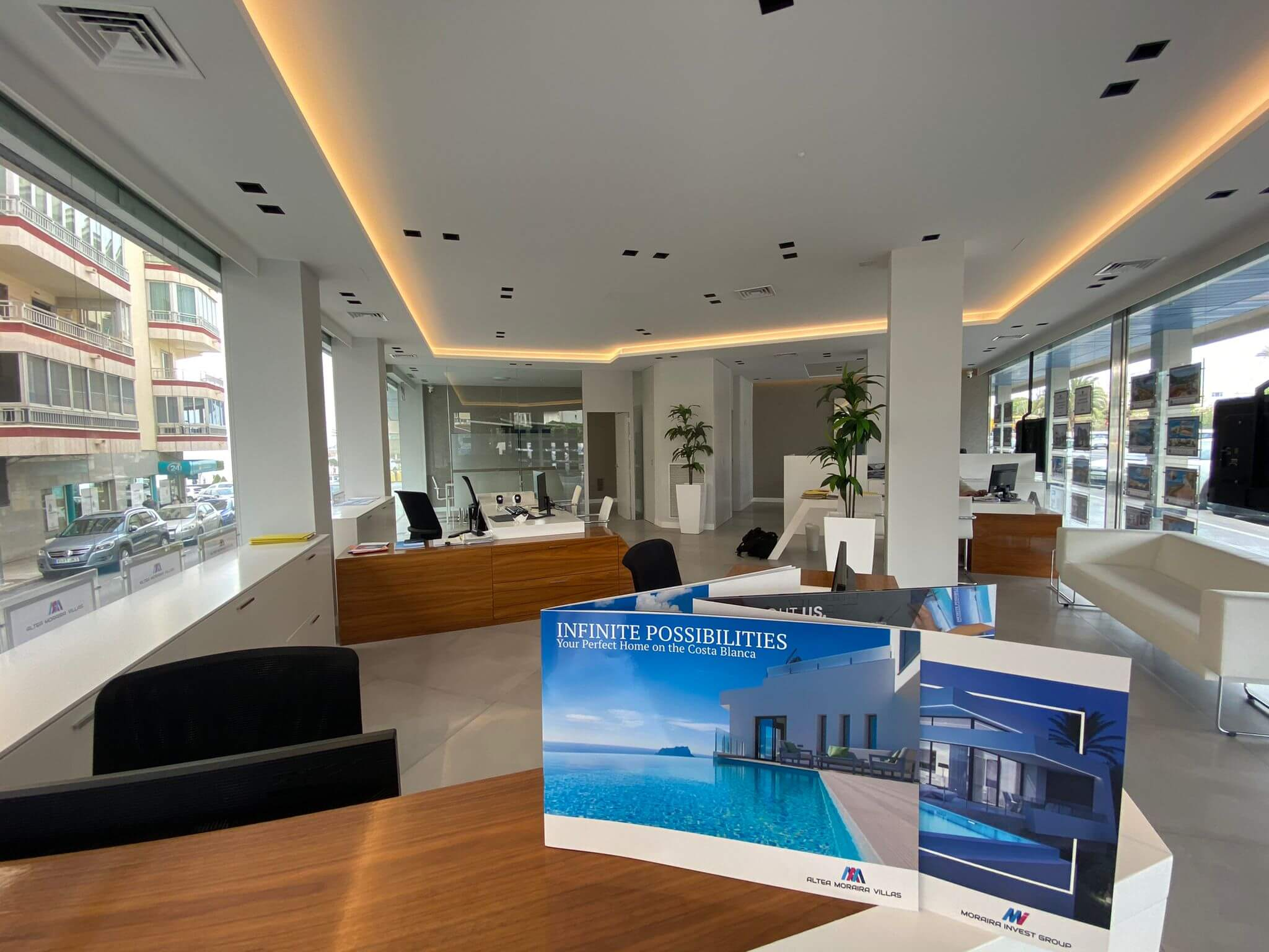 Interior Office photo real estate agents in Altea
