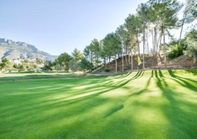 Beautiful Altea Golf Club Course