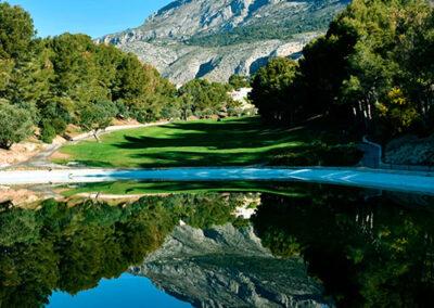 Altea Golf Club Lake